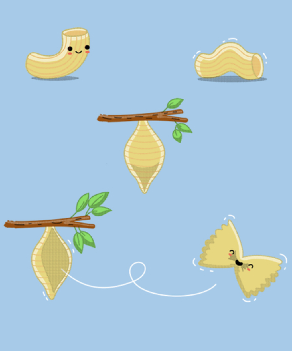 Qwertee: Lifecycle of Pasta