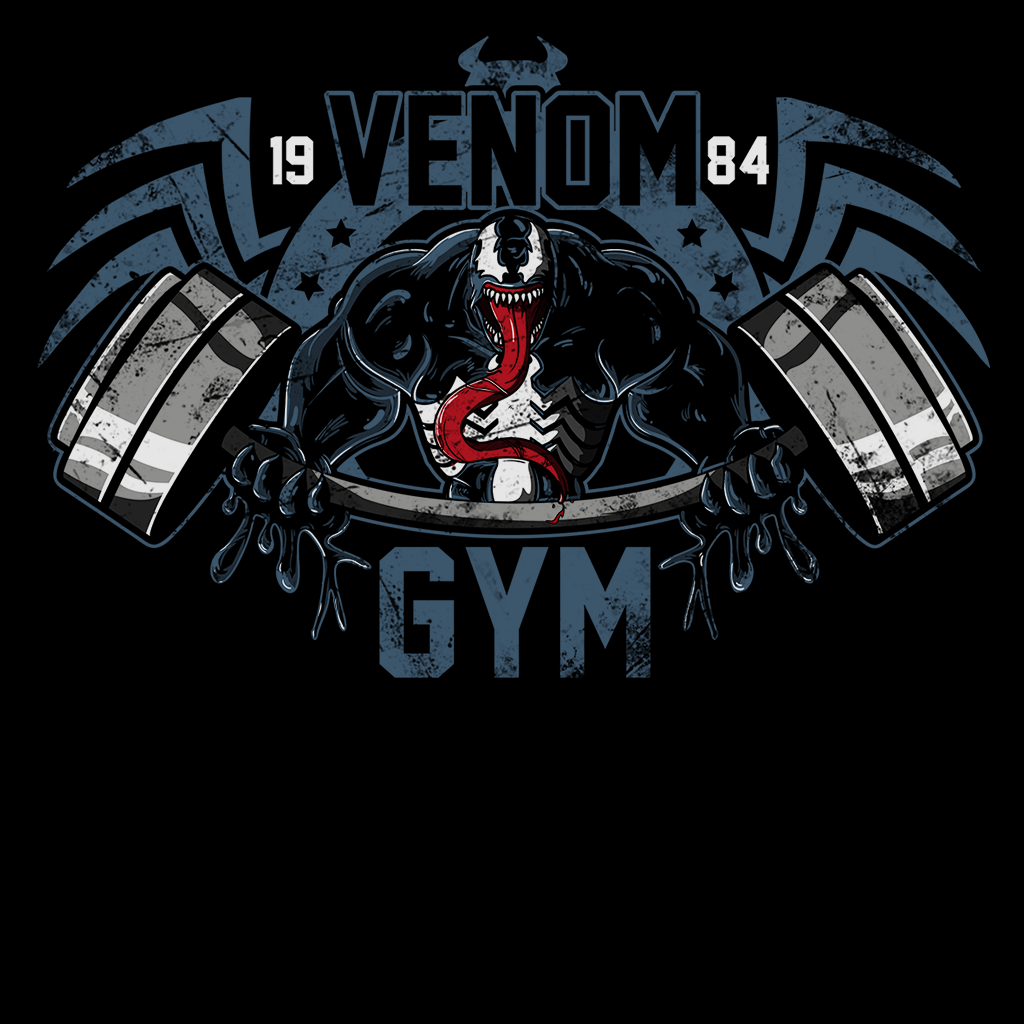 Pop-Up Tee: Venom Gym
