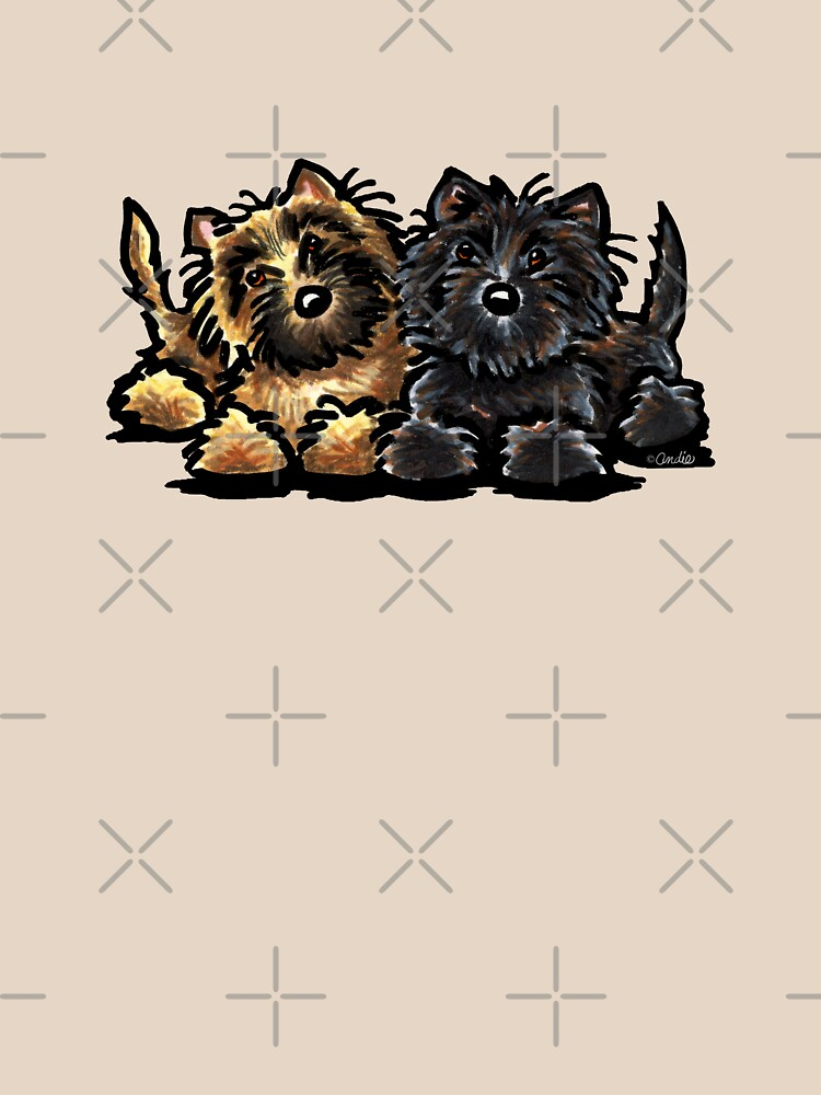 RedBubble: Two Cairn Terriers