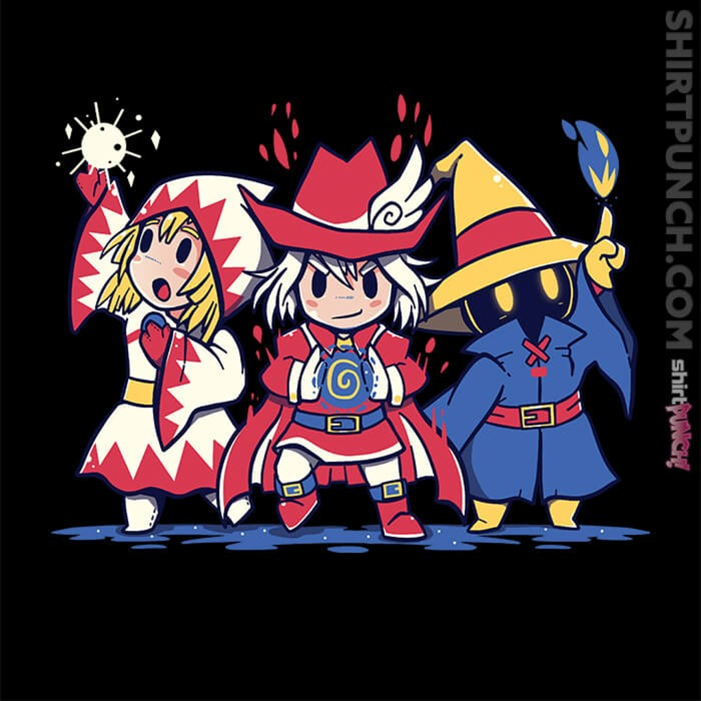 ShirtPunch: The Three Mages