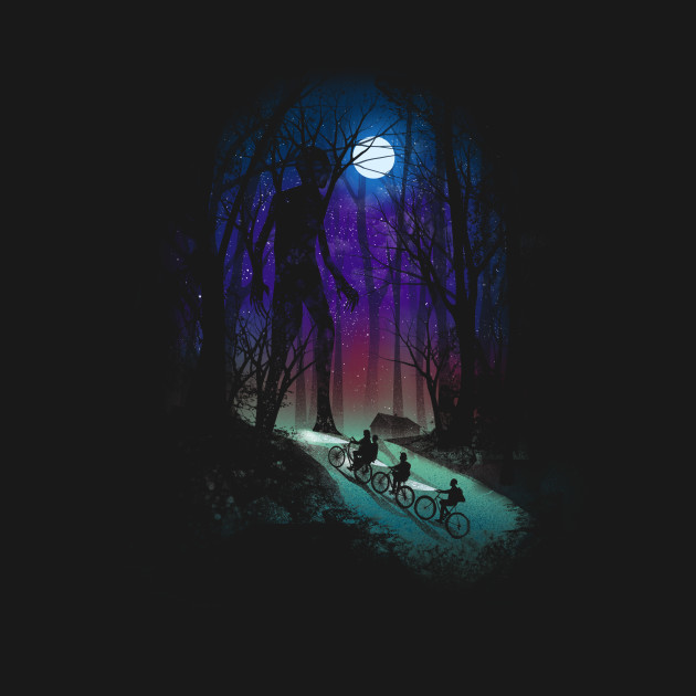 TeePublic: Stranger in the Woods T-Shirt