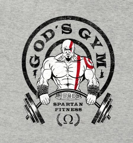 BustedTees: God's Gym