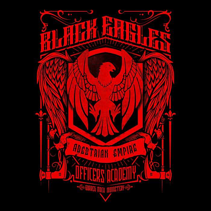 Once Upon a Tee: Black Eagles Officer