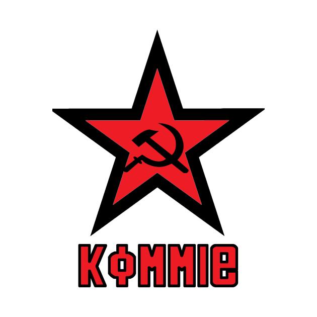 TeePublic: Kommie Star Logo