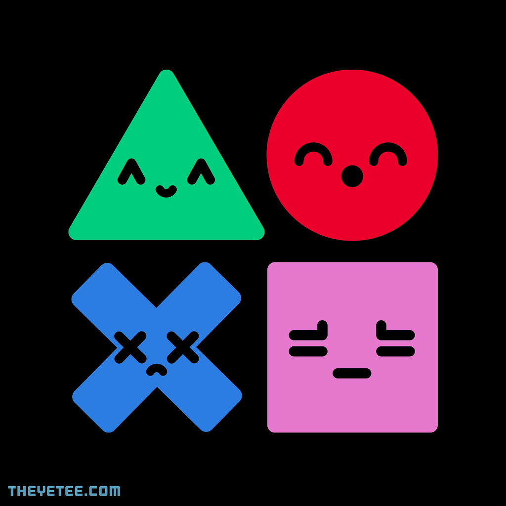 The Yetee: Psx Buttons