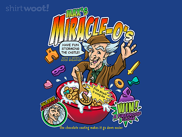 Woot!: Miracle Max's Cereal