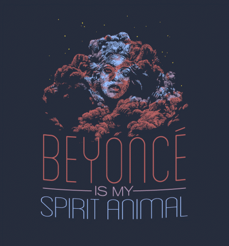 BustedTees: Beyonce Is My Spirit Animal