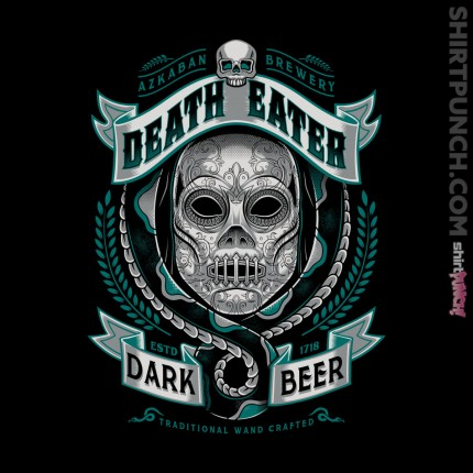 ShirtPunch: Deathly Dark Beer