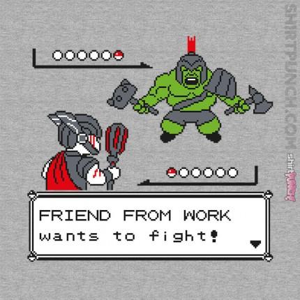 ShirtPunch: Friendly Foes