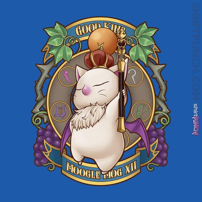 ShirtPunch: King Moogle