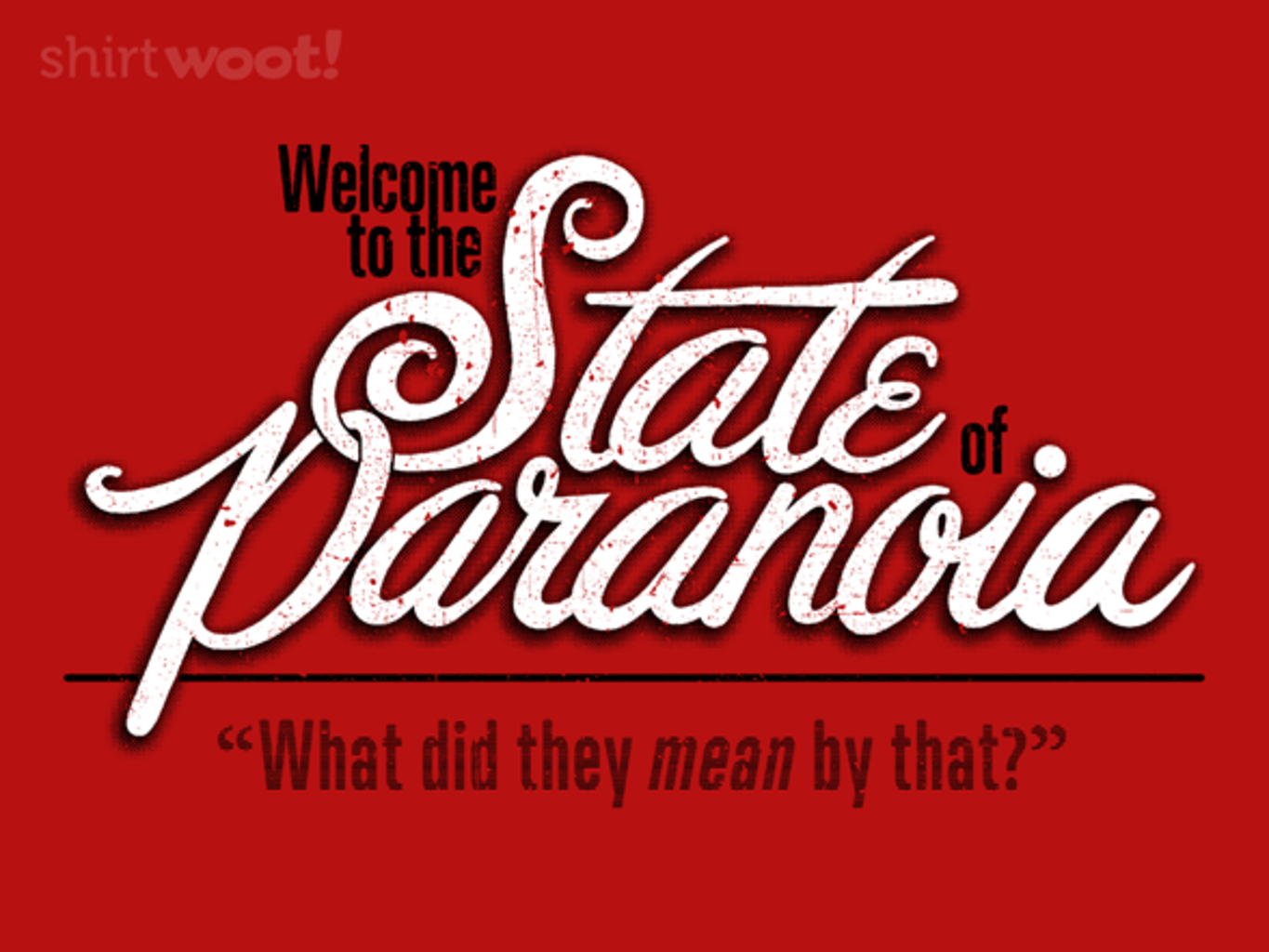 Woot!: State of Paranoia