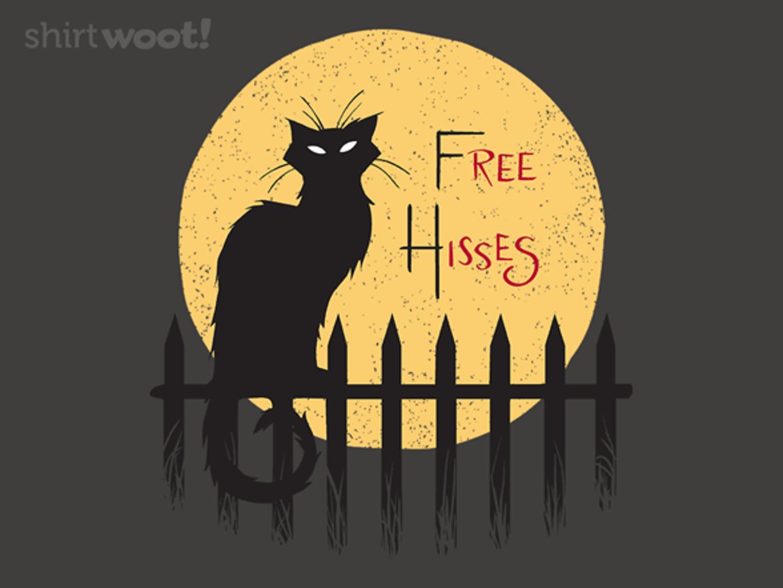 Woot!: Free Hisses