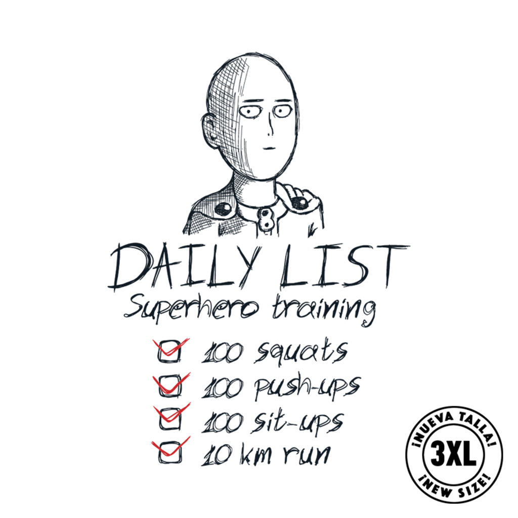 Pampling: Superhero List
