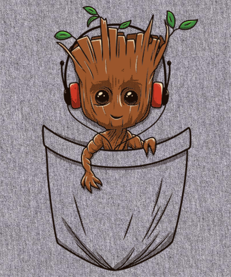 Qwertee: A tree in the pocket