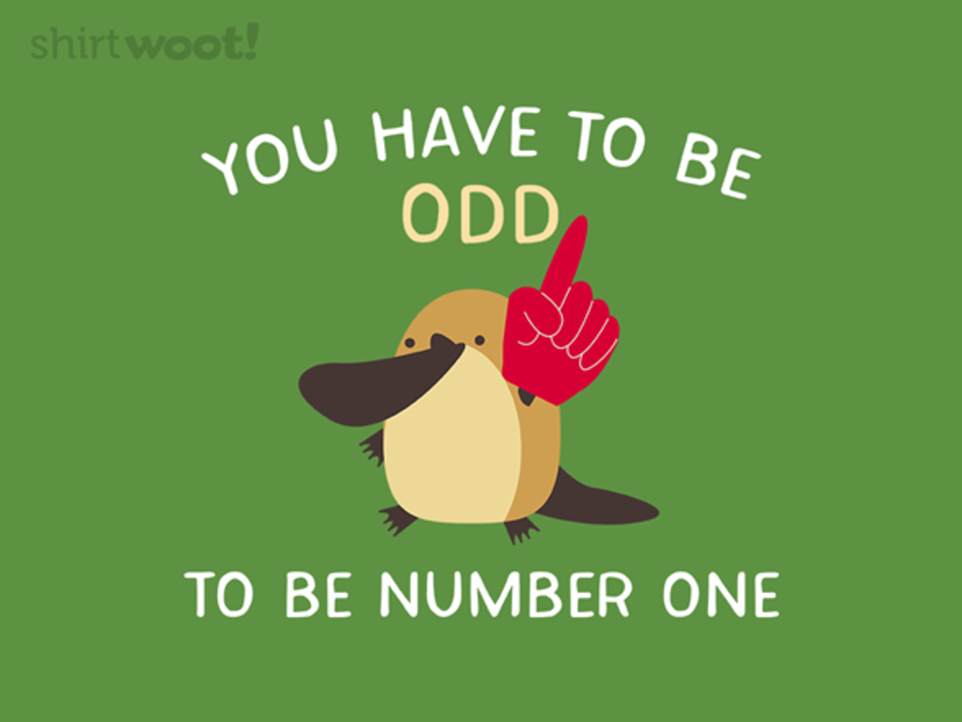 Woot!: Odd Numbered - $15.00 + Free shipping
