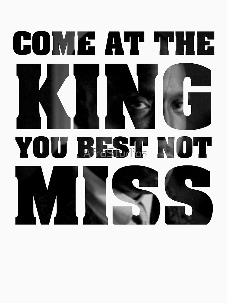 RedBubble: Omar Little - The Wire - Come at the king