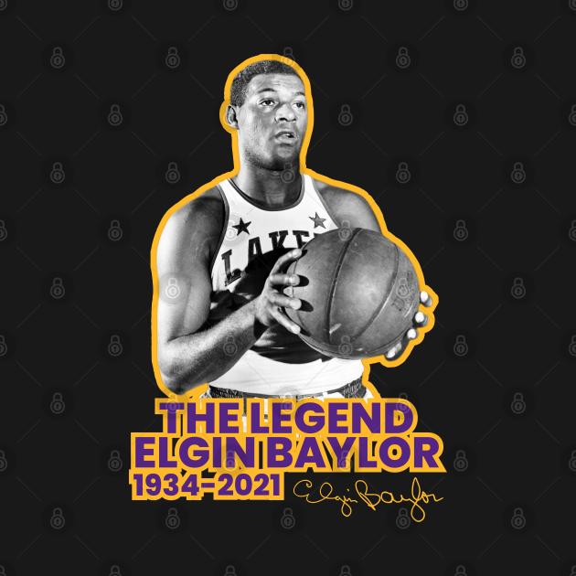 TeePublic: Rip Elgin Baylor