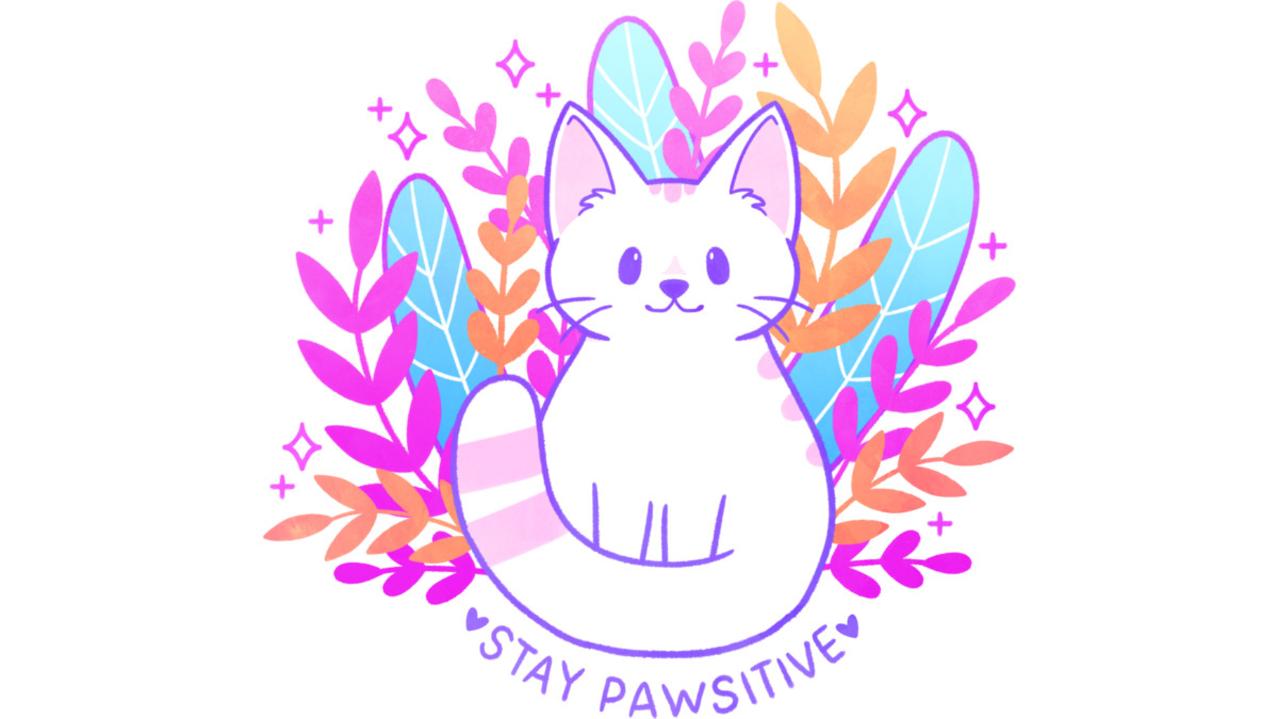 Design by Humans: Pawsitive Cat