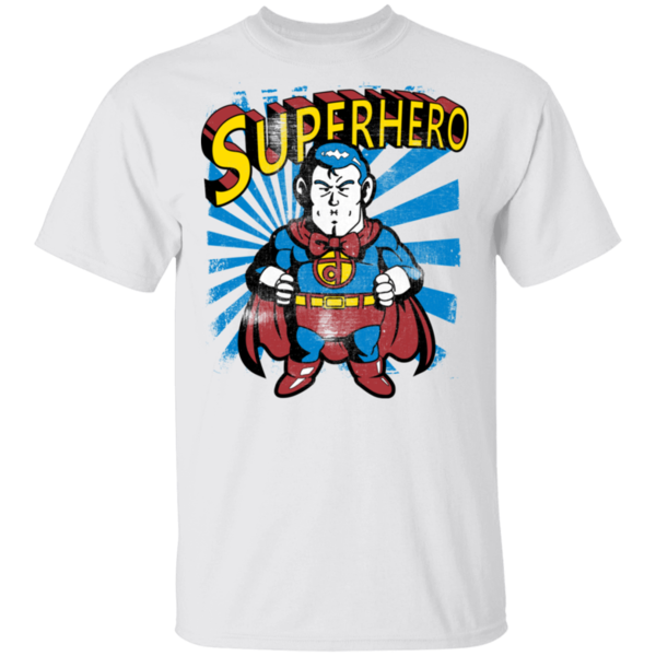 Pop-Up Tee: Superhero
