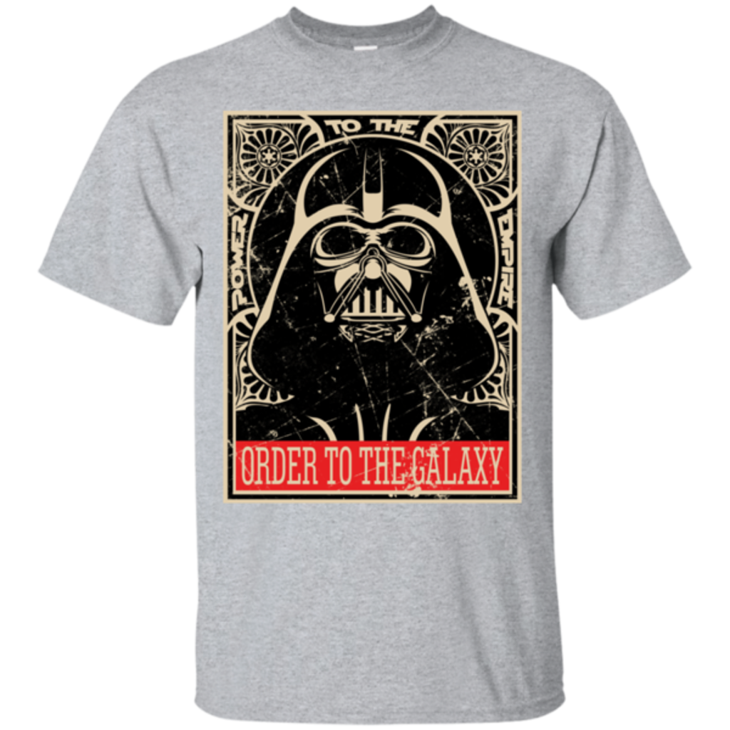 Pop-Up Tee: Order to the galaxy