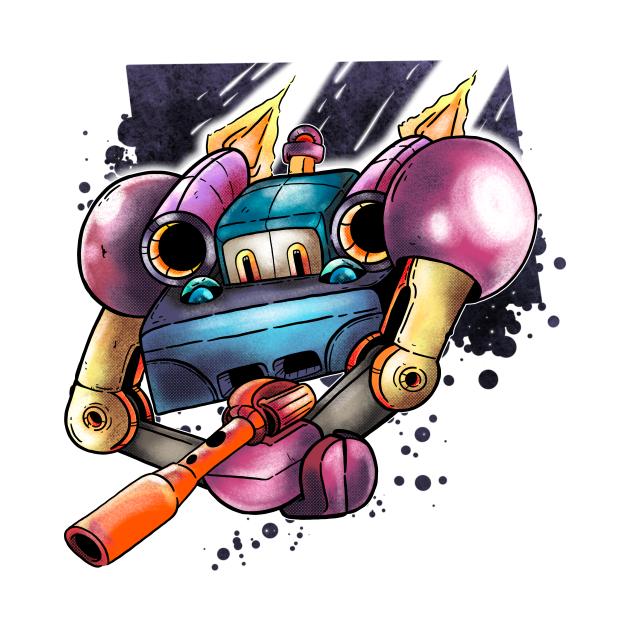 TeePublic: Saturn Shooter: The Bomber Cart
