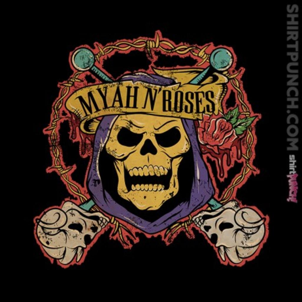ShirtPunch: Myah N' Roses