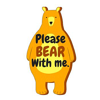 BustedTees: please bear with me