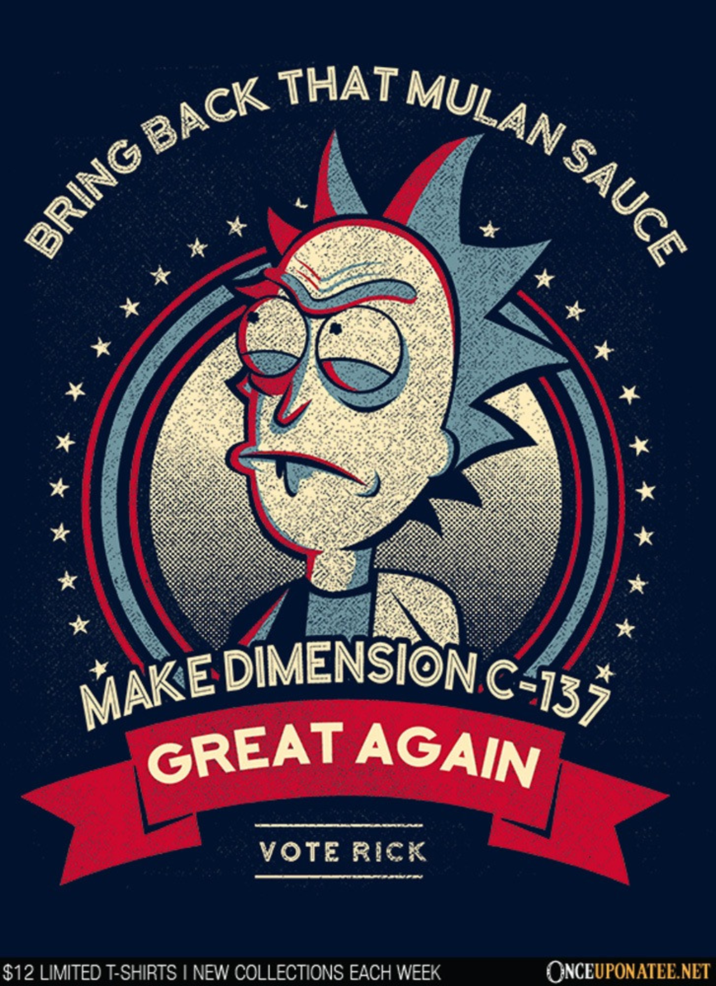 Once Upon a Tee: Make C-137 Great Again