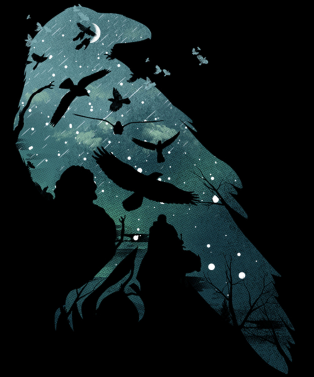 Qwertee: Murder of Crows