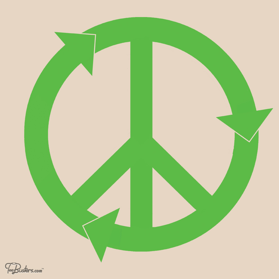 TeeBusters: PEACE & LOVE & RECYCLING