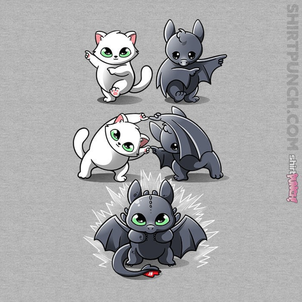 ShirtPunch: Night Fury Fusion
