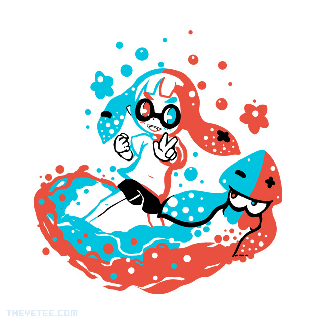 The Yetee: Paint With Neon