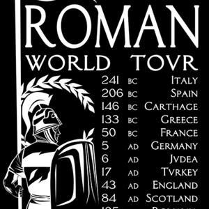 Qwertee: Roman World Tovr