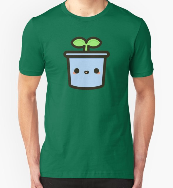 RedBubble: Cute sprout in pot