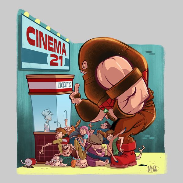 NeatoShop: Movie Night