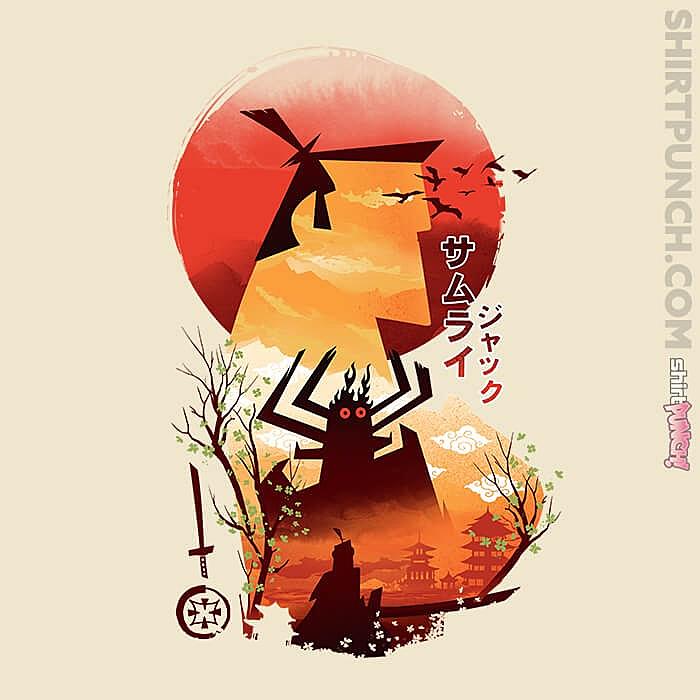 ShirtPunch: Samurai Jack Sumi-e