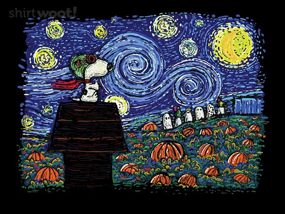 Woot!: Starry Great Pumpkin Night