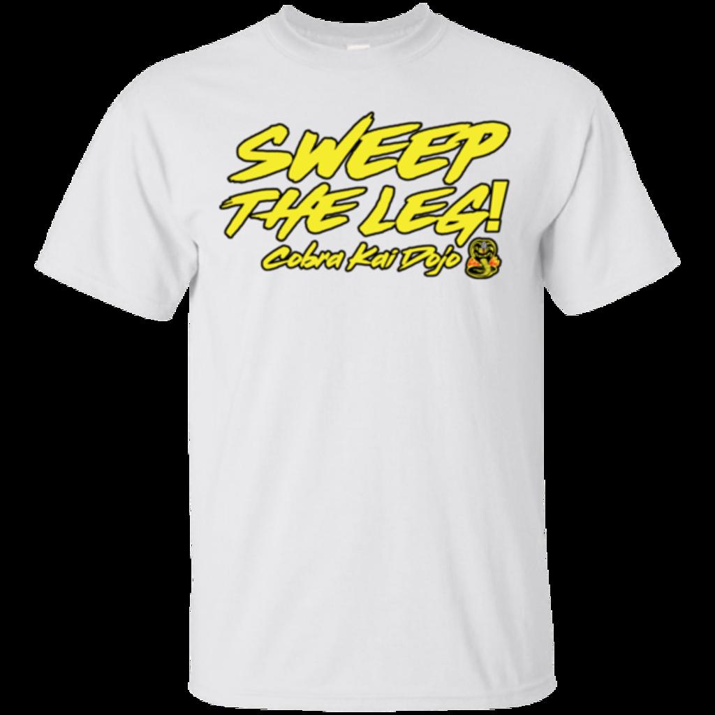 Pop-Up Tee: Cobra Kai Sweep the Leg
