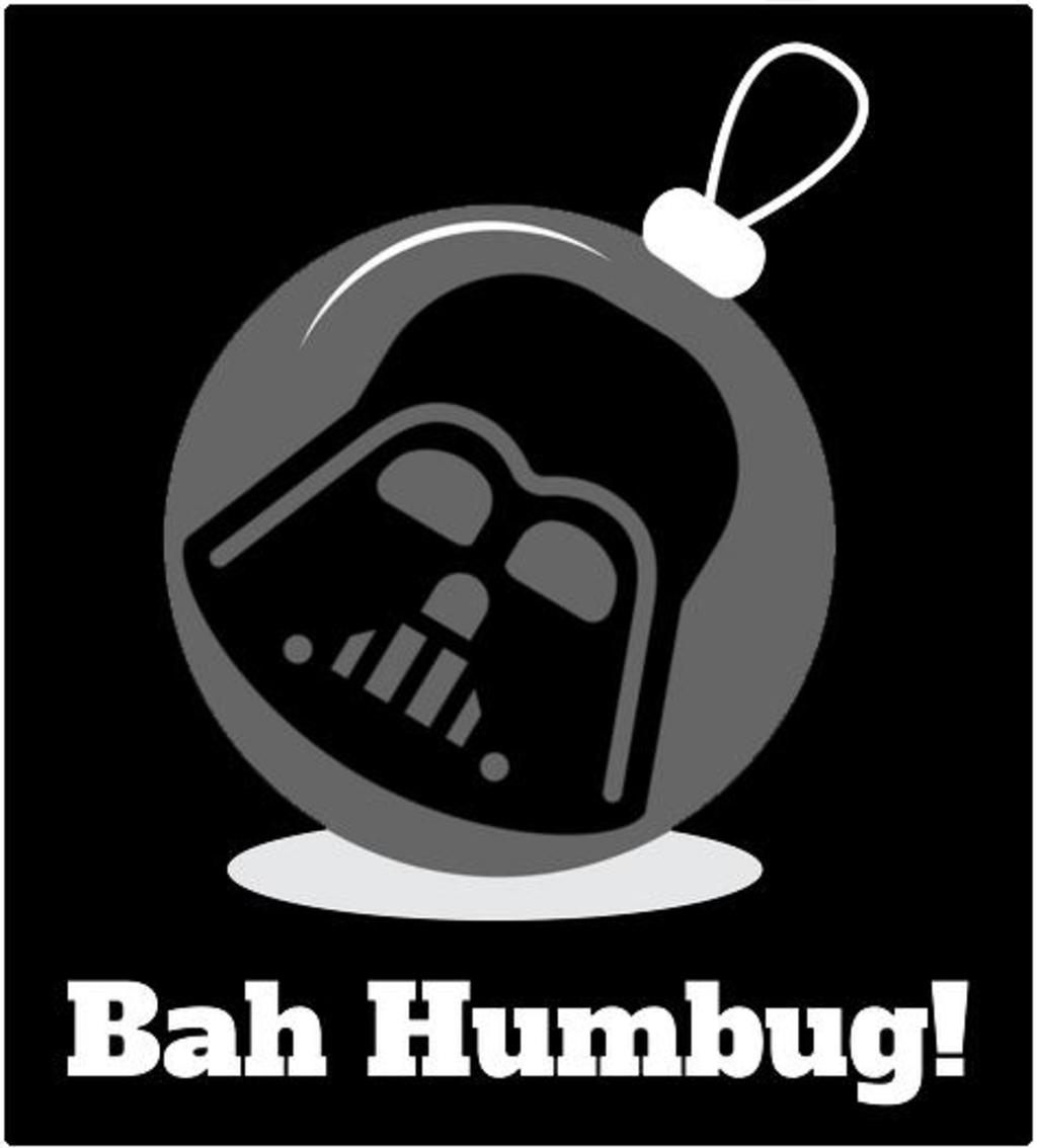 Shirt Battle: Bah Humbug Darth