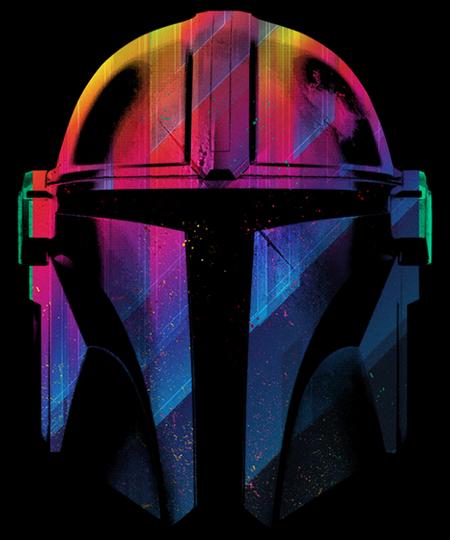 Qwertee: Retro Hunter Helmet