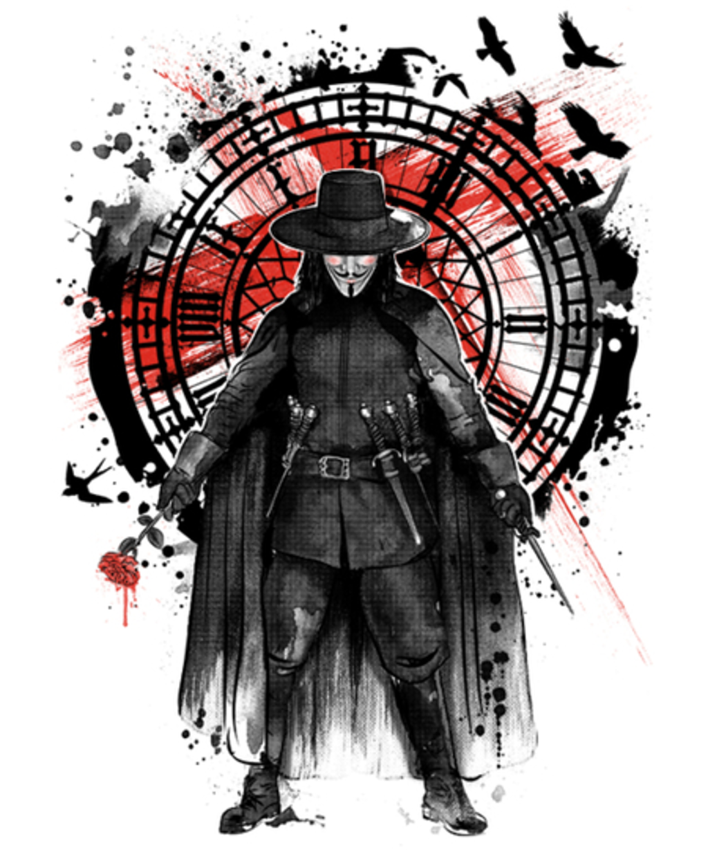 Qwertee: Remember the Fifth of November