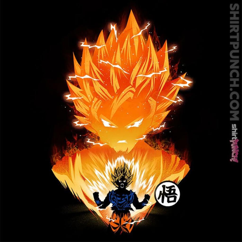 ShirtPunch: The Angry Super Saiyan