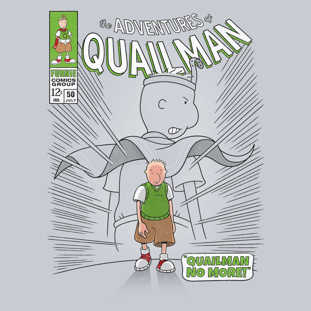 Pop-Up Tee: Quailman No More