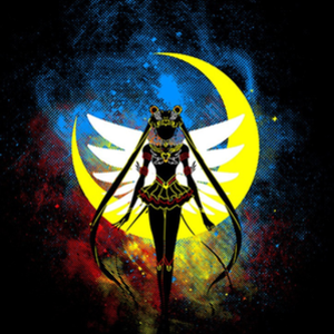 Once Upon a Tee: Eternal Moon Art