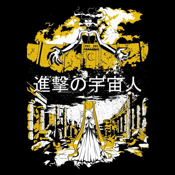 Once Upon a Tee: Attack on Moon