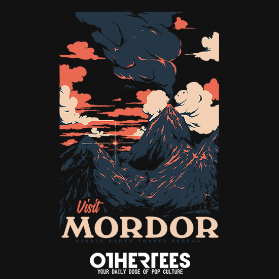 OtherTees: Visit Mordor