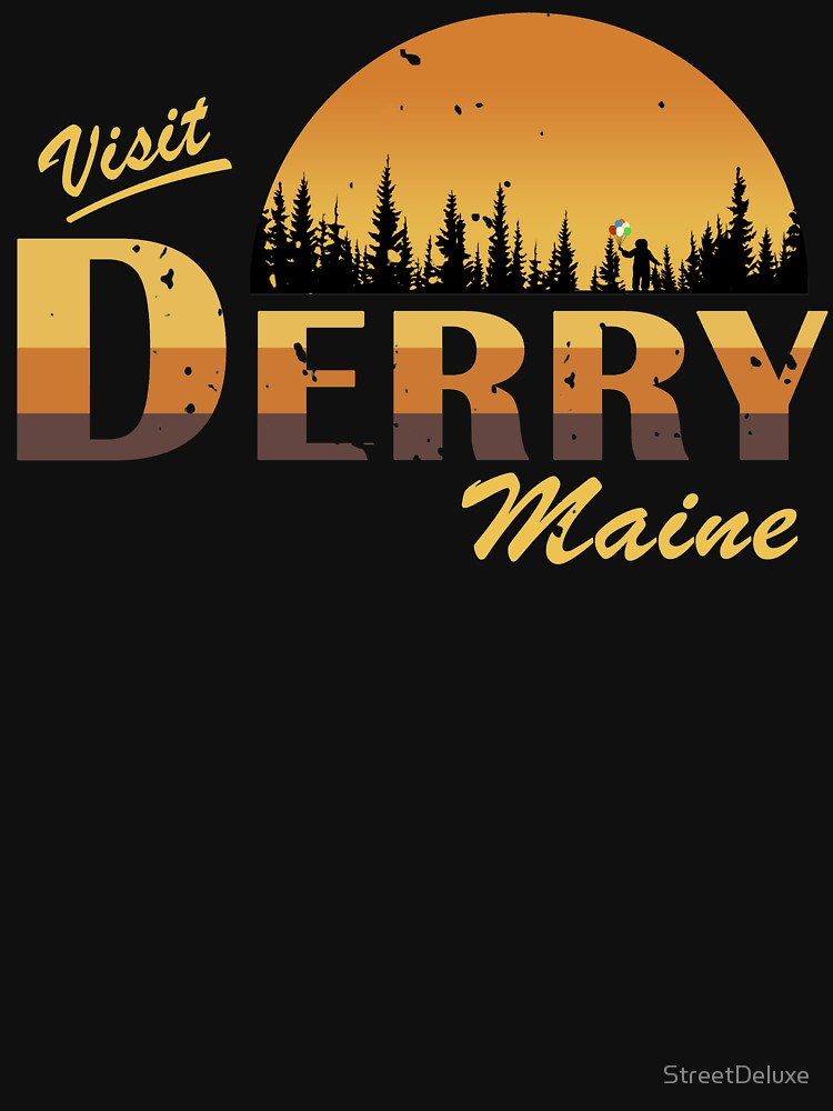 RedBubble: Welcome to Derry, Maine (IT movie)