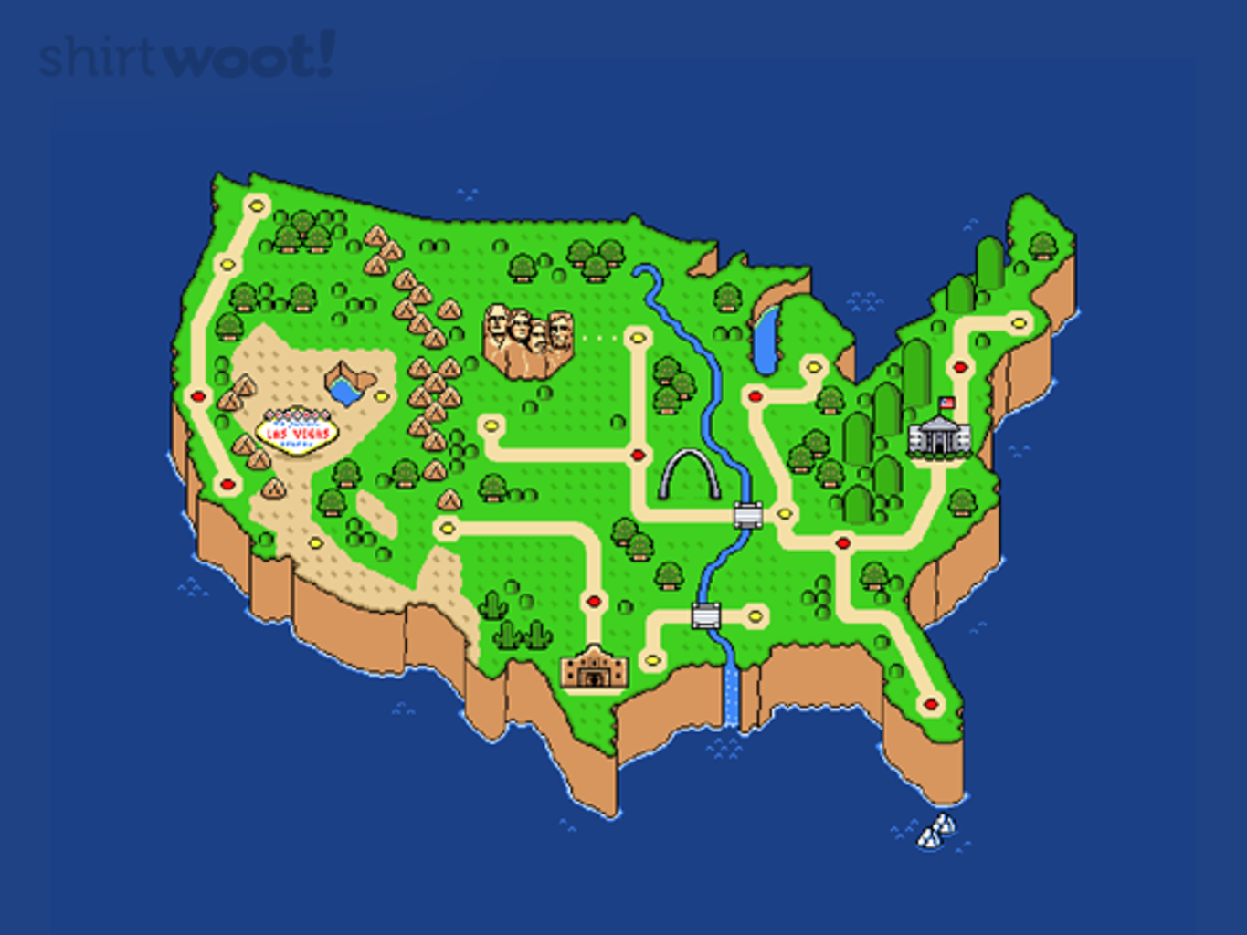 Woot!: Super Murica World