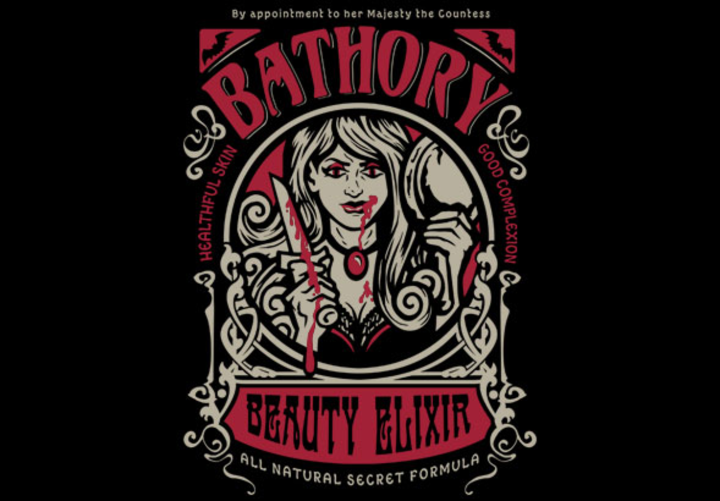 teeVillain: Bathory Beauty Elixir
