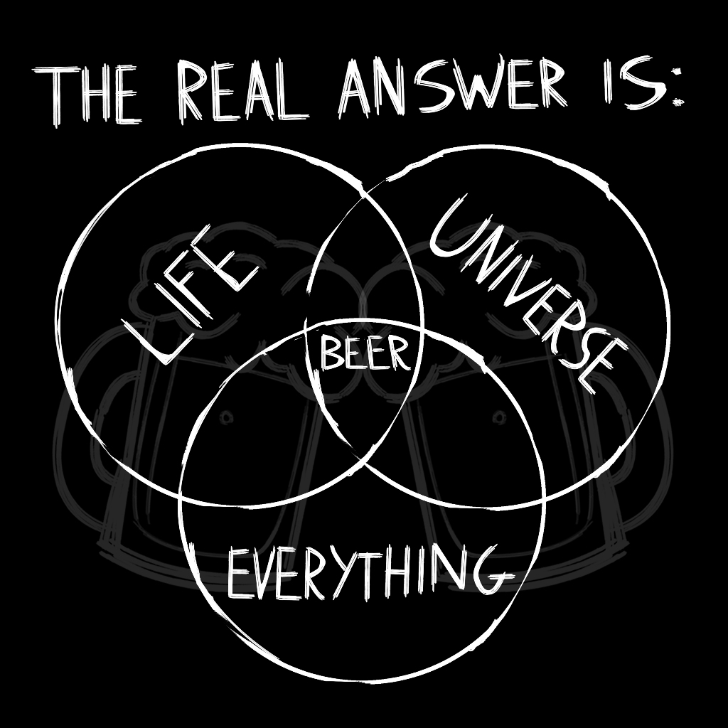 TeeTee: Beer is the real answer